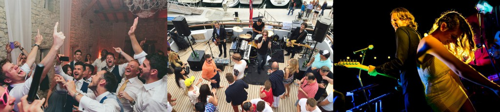 French Riviera's most popular party band