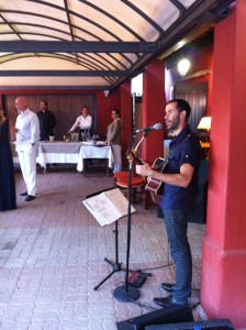 Acoustic at la Chaumière in Nice