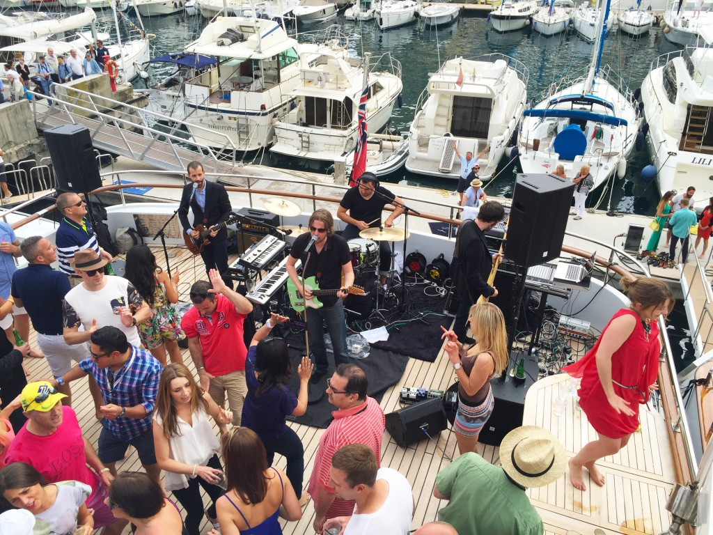 French Riviera party band