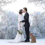 Winter wedding France