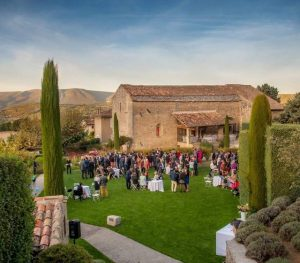 alfresco wedding south of France